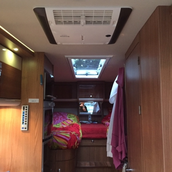 airbox Truma in een Hymer
