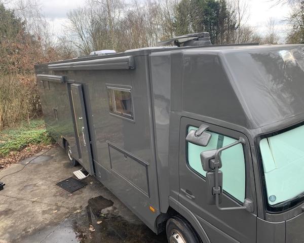 vrachtwagen camper dak airco