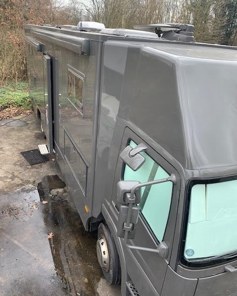 vrachtwagen camper dakairco II
