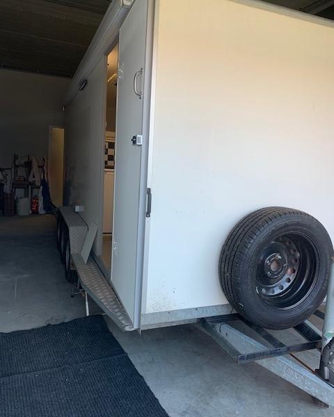 Freshjet op camper trailer